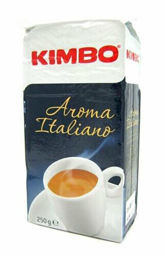 Kimbo Aroma Italiano ground coffee 250g