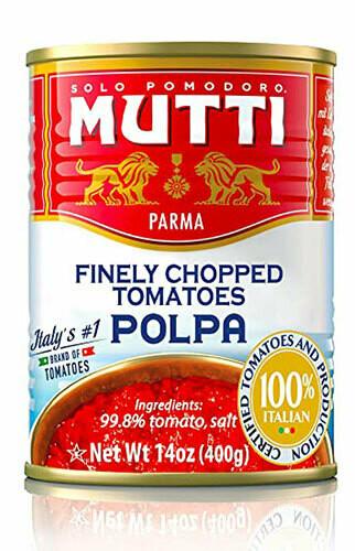Mutti Chopped tomatoes 400g