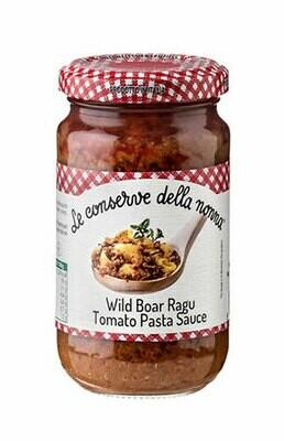 Le conserve della nonna Wildboar Ragu sauce 190g
