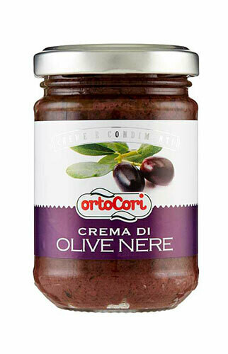 Ortocori Black olives cream 130g