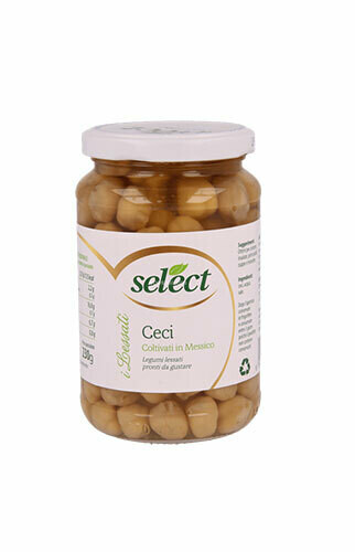 Select Chickpeas glass  350g