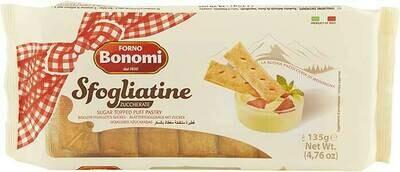 Bonomi glazed sfogliatine 135g