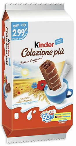 Kinder Colazione Piu T10