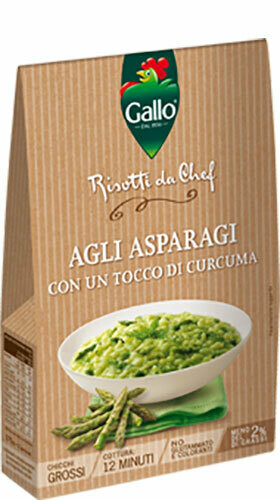 Gallo Asparagus  Risotto 175gr