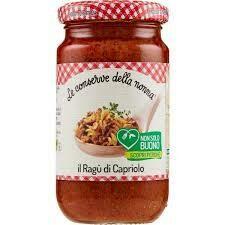 Le conserve della nonna Deer ragu` sauce 190g