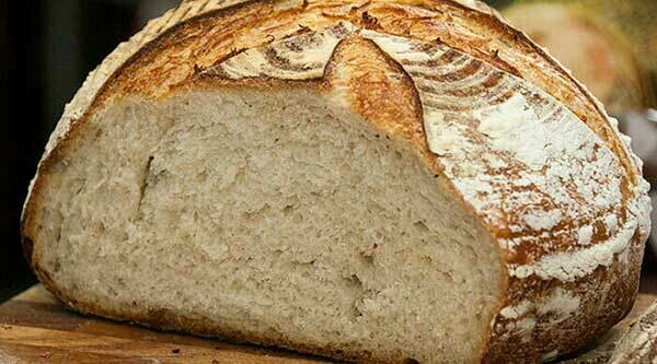 Half White Sourdough Bread 400g