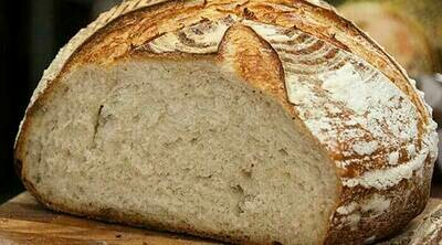 Half White Sourdough Bread 400g