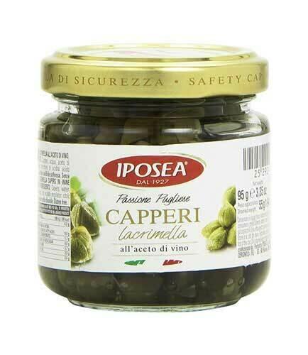 La Palma Capers in vinegar 95gr