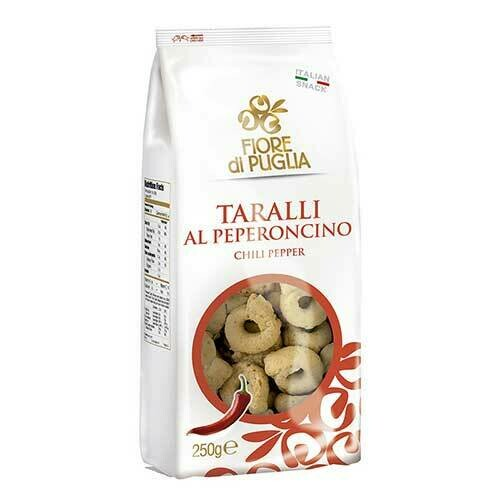 Fiori di Puglia Taralli Chilli pepper gr. 250