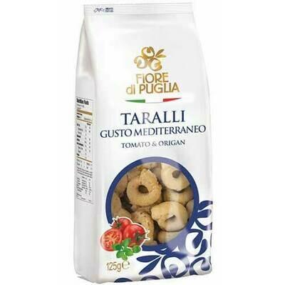 Fiori di Puglia taralli tomato/oregan 250g