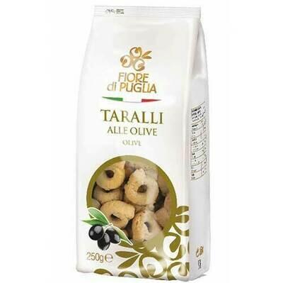 Fiori di Puglia Taralli Olive GR.250