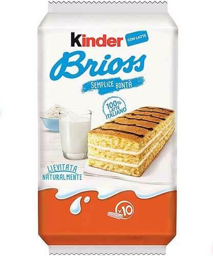 Kinder Brioss Milk