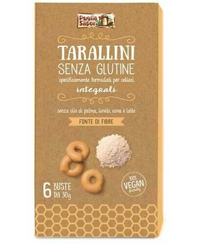 Puglia Sapori Tarallini senza glutine 180g