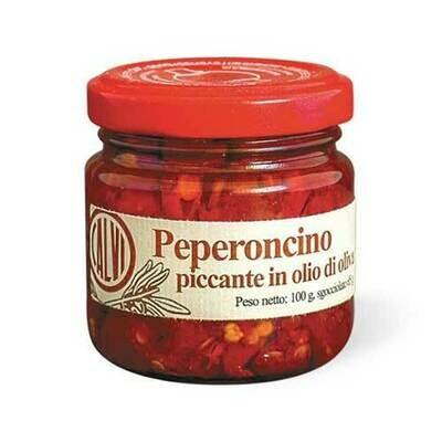 Sapori d' amare Chilli peppers  e.v.o.   100g