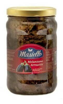 Masiello aubergines fillets in oil  280g