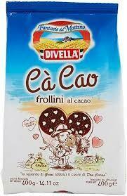 Divella Cocoa biscuits  350g