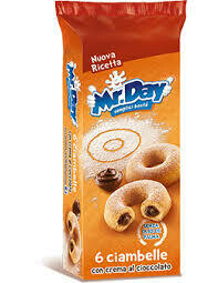 Mr Day chocolate donuts 288g
