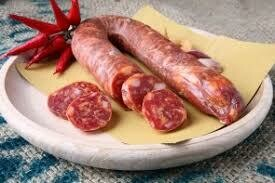 Dry spicy sausages from Ariccia  100g