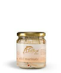 Delfino marinated Anchovies from Cetara 212ml