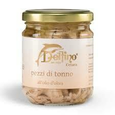 Delfino Tuna pieces e.v.o. 200ml