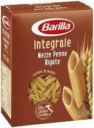 Barilla whole wheat Penne rigate 500g