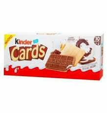 Kinder Cards T2x5   128g
