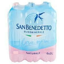 San Benedetto still water 2lt case x6