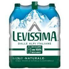 Levissima Still water 1.5lt case x6