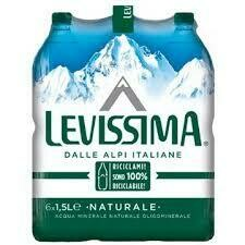 Levissima Still water 1.5lt case x6