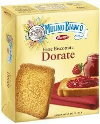 Mulino bianco toasted slices  315g