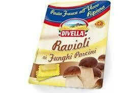 Divella  fresh ravioli mushrooms 250g