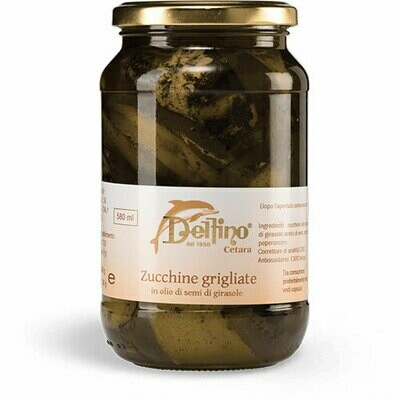 Delfino grilled courgettes 314ml