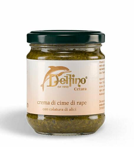 Delfino Turnip tops cream with anchovies extract  212ml