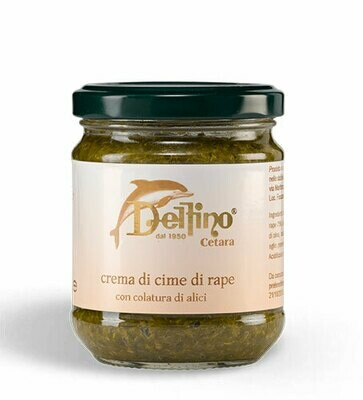 Delfino Turnip tops cream with anchovies extract  212ml