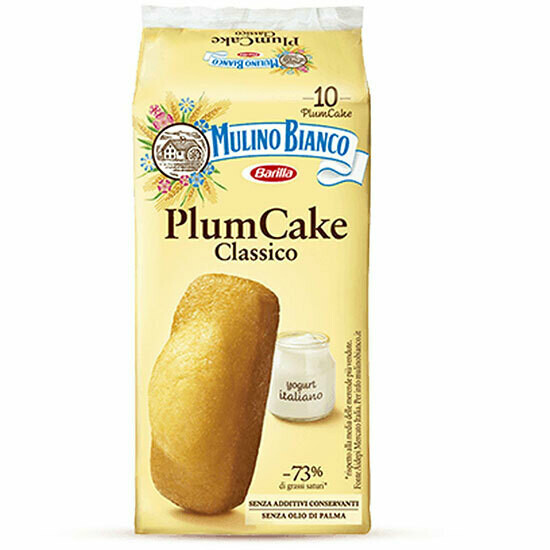 Mulino Bianco Plumcake x 10  330g