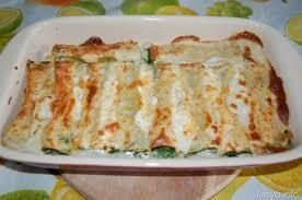 Ricotta and spinach cannelloni tray 2.2kg