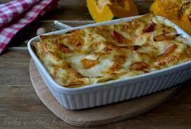 Pumpkin and gorgonzola Lasagna tray 2.2kg