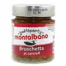 Montalbano Bruschetta Artichokes 130g