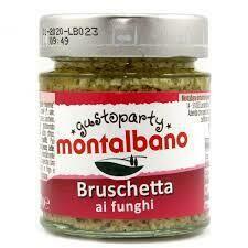 Montalbano Bruschetta mushrooms 130g
