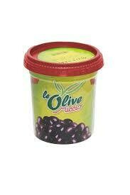 Miccio black olives 250g