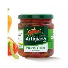 Artigiana peppers fillets 280g