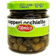 D'Amico Capers in vinegar 100g