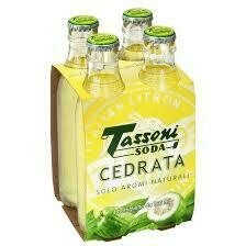 Tassoni Cedrata 20cl  pack x4