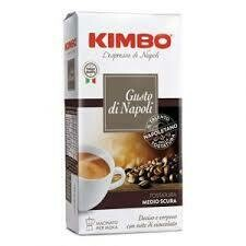 Kimbo Gusto Napoli ground coffee 250g