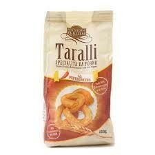 Tentazioni Pugliesi Taralli Chilli pepper gr. 250