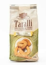 Tentazioni pugliesi Taralli Fennel 250g