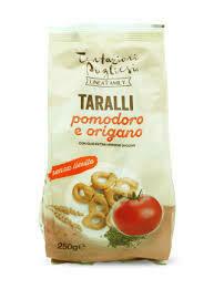 Tentazioni Pugliesi taralli tomato/oregan 250g