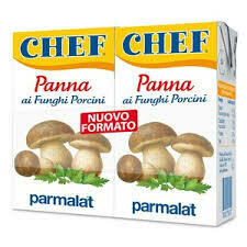 Parmalat Panna chef cream mushrooms 125ml x2