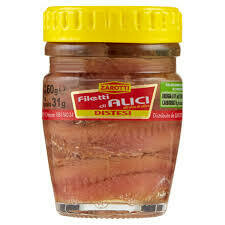 Zarotti anchovies fillets 65g