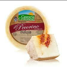 Pecorino Crotonese with nduja Spilinga 100g